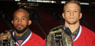 Demetrious Johnson TJ Dillashaw