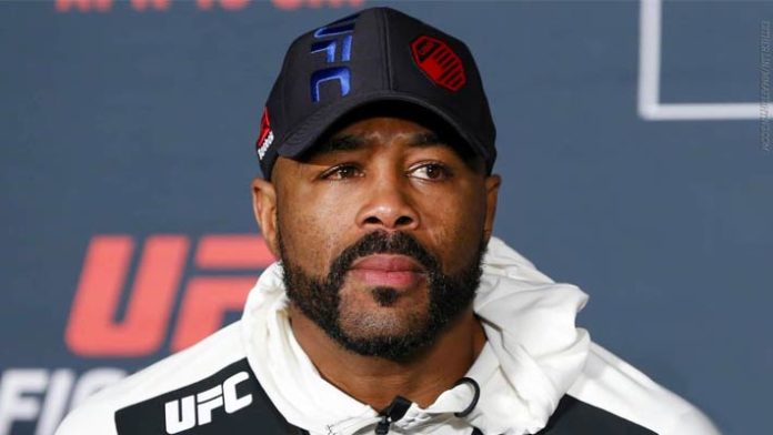 Rashad Evans moving back to 205, meets Anthony Smith at UFC 225