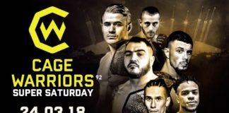 Cage Warriors 92: Super Saturday
