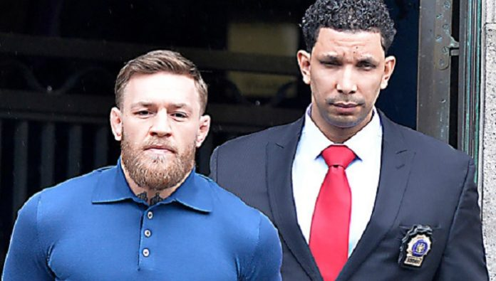Conor McGregor In Handcuffs - Mug Shot Emerges