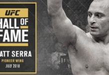 Matt Serra to join the UFC Hall Of Fame