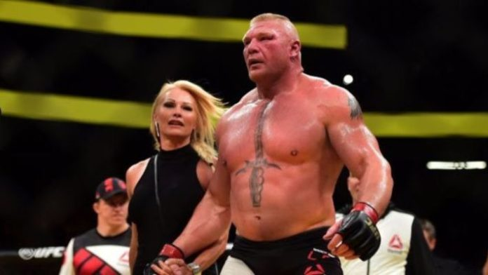 Brock Lesnar Defeats Roman Reigns At WrestleMania 34
