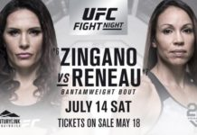 Cat Zingano Marion Reneau