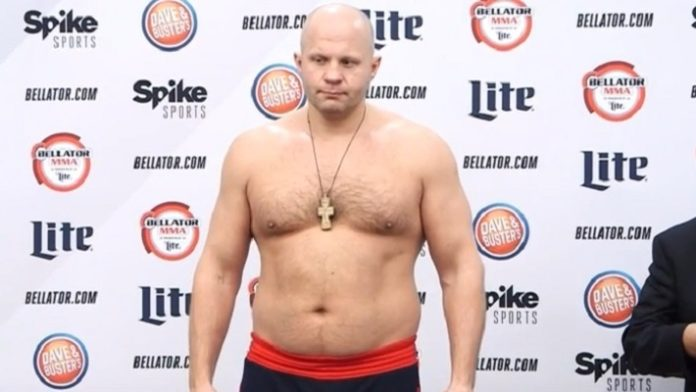 Quizzed by FBI, Emelianenko wins MMA bout