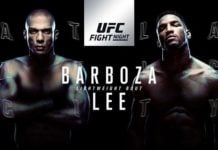 UFC Fight Night 128: Barboza vs. Lee