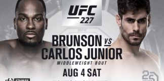 Derek Brunson Antonio Carlos Junior