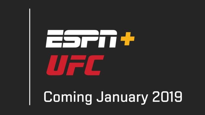 ESPN to start airing UFC cards on its app starting next year