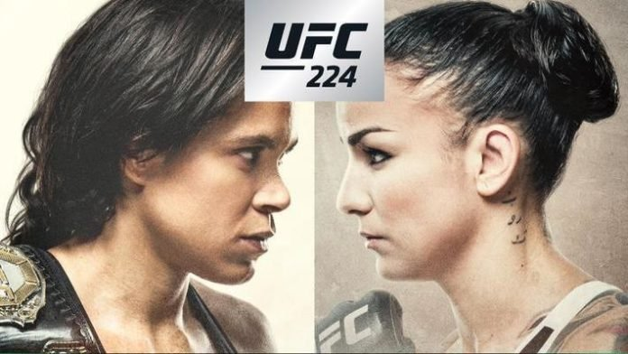 UFC 224 results: Nunes breaks Pennington's nose and retains title