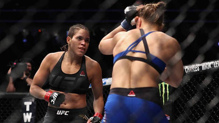 Pennington left in a bloody mess as Nunes defends her UFC title