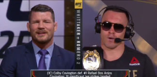 Colby Covington Michael Bisping